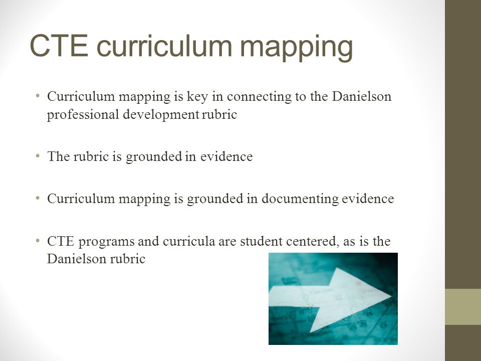 CTE curriculum mapping