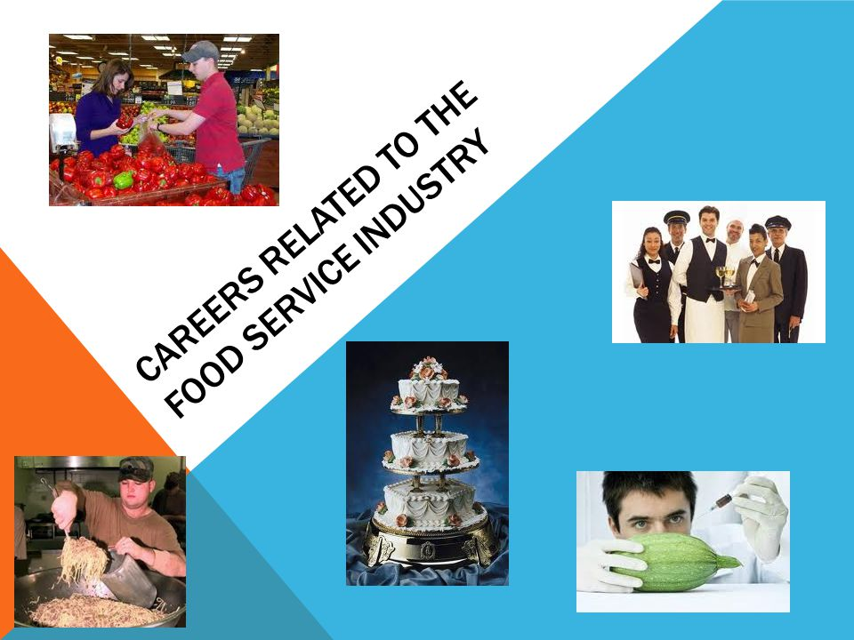 Careers related to the Food Service Industry