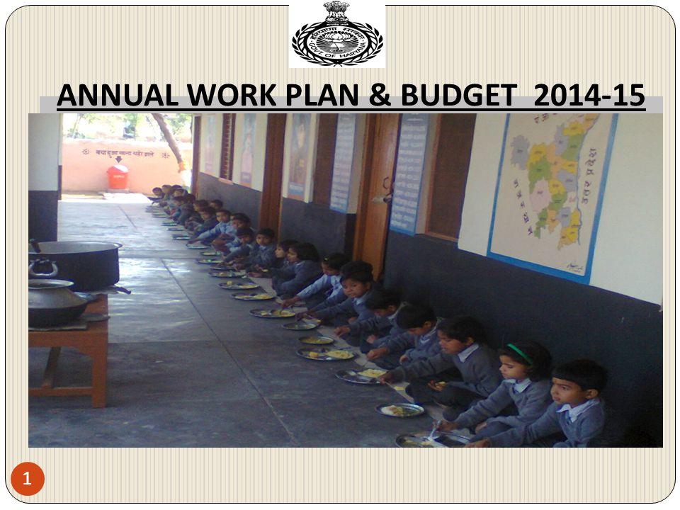 ANNUAL WORK PLAN & BUDGET 2014-15