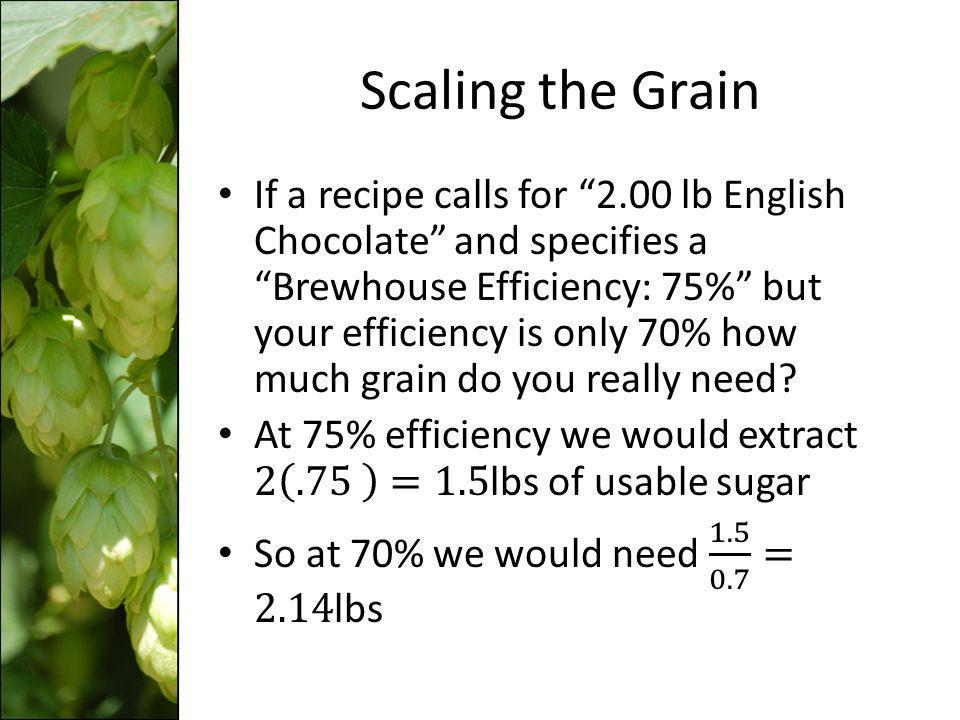 Scaling the Grain