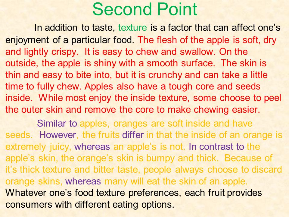 Second Point