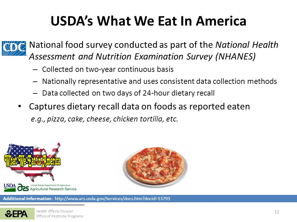 USDA's What We Eat In America