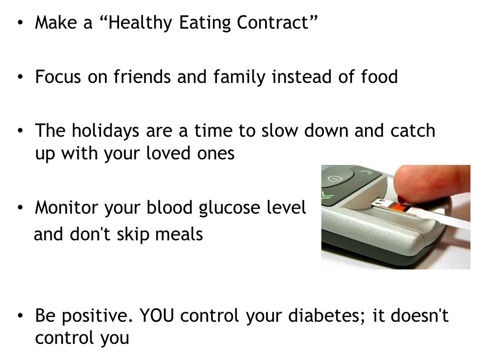 Make a Healthy Eating Contract