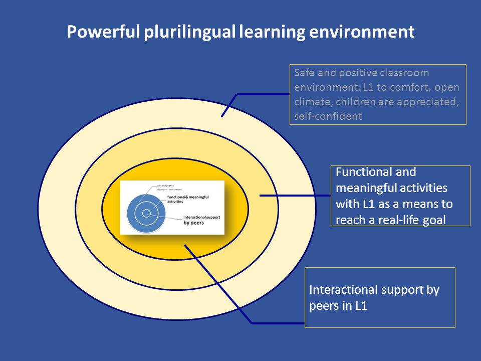 Powerful plurilingual learning environment