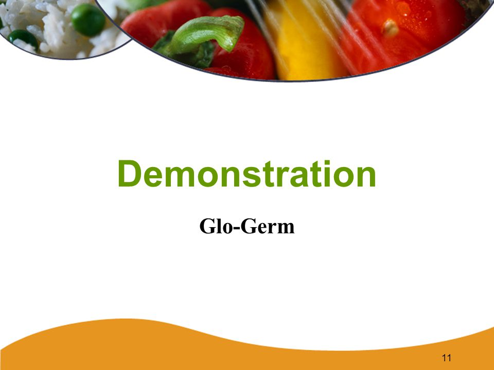 Demonstration Glo-Germ