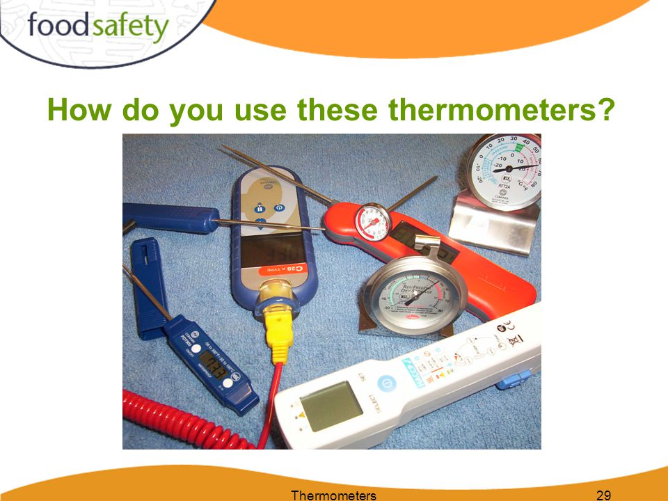 How do you use these thermometers