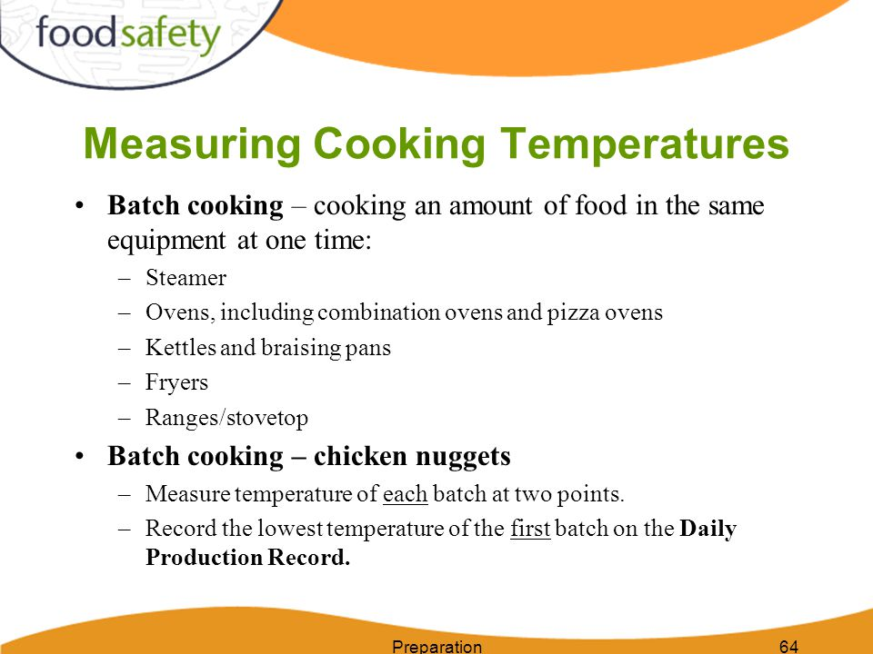 Measuring Cooking Temperatures