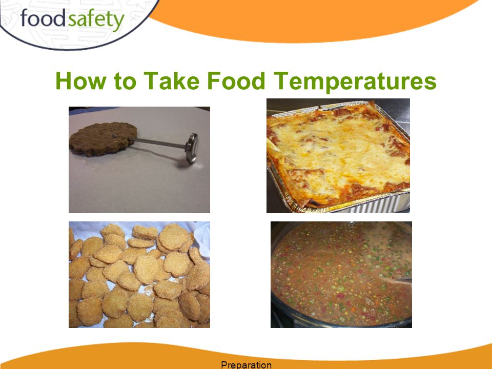 How to Take Food Temperatures