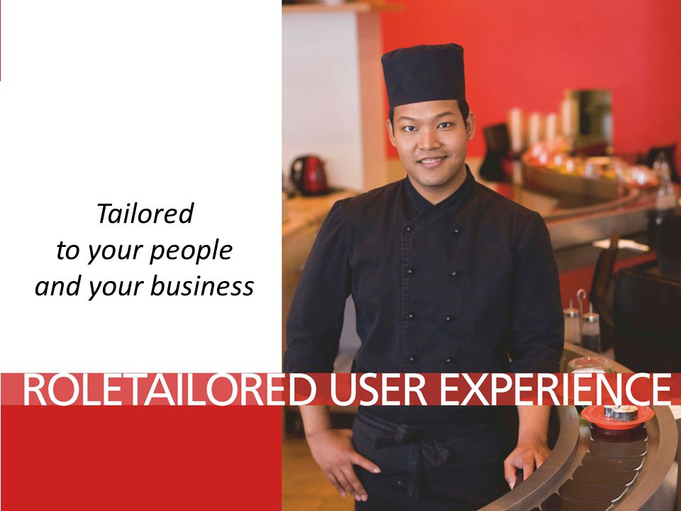 Tailored to your people and your business