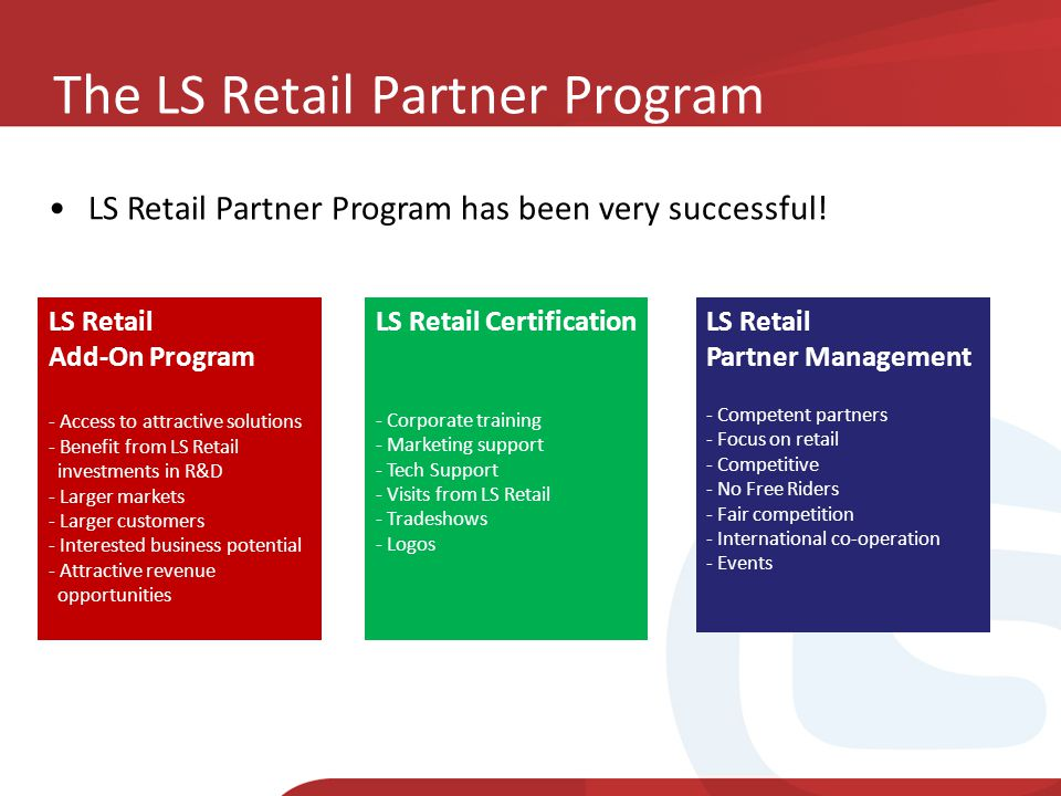 The LS Retail Partner Program