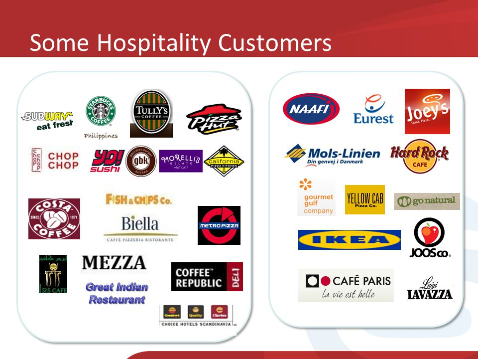 Some Hospitality Customers