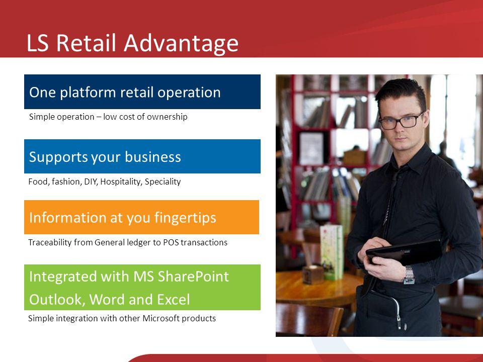 LS Retail Advantage One platform retail operation