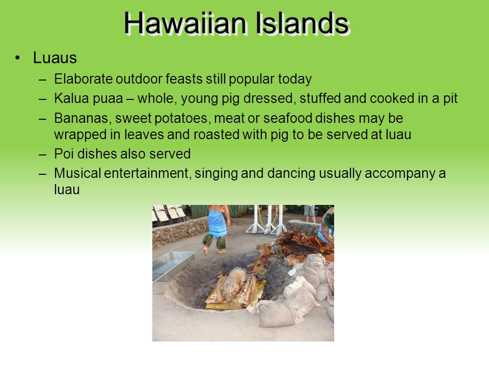Hawaiian Islands Luaus Your Description Goes Here