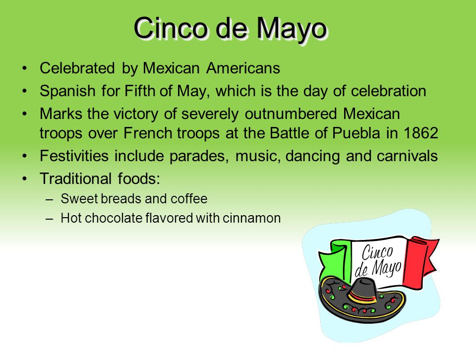 Cinco de Mayo Celebrated by Mexican Americans