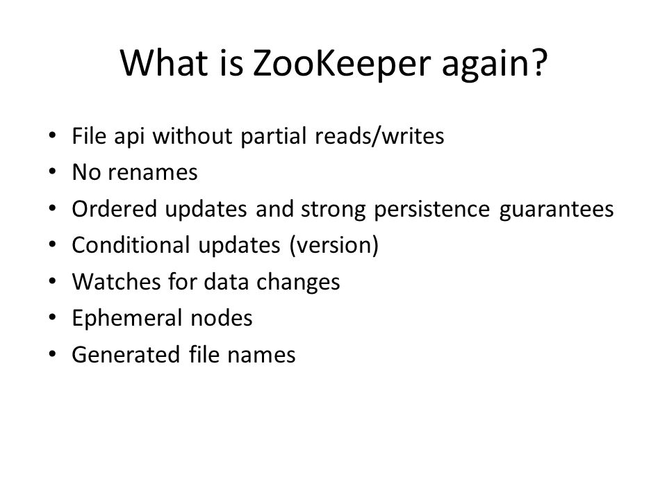 What is ZooKeeper again