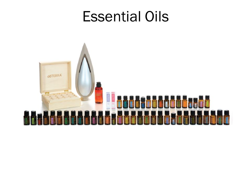 Essential Oils The first major product category is the Essential Oils.