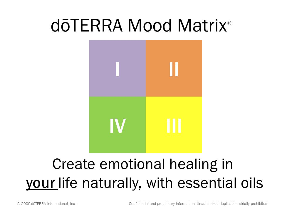 Create emotional healing in your life naturally, with essential oils