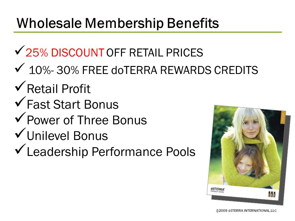 Wholesale Membership Benefits