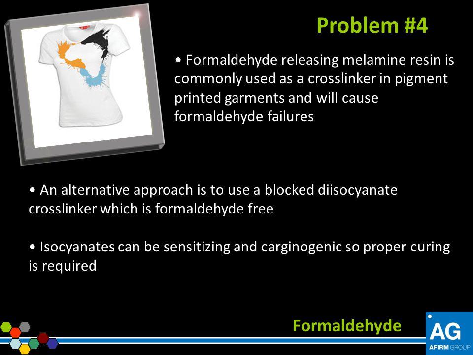 Problem #4 Formaldehyde