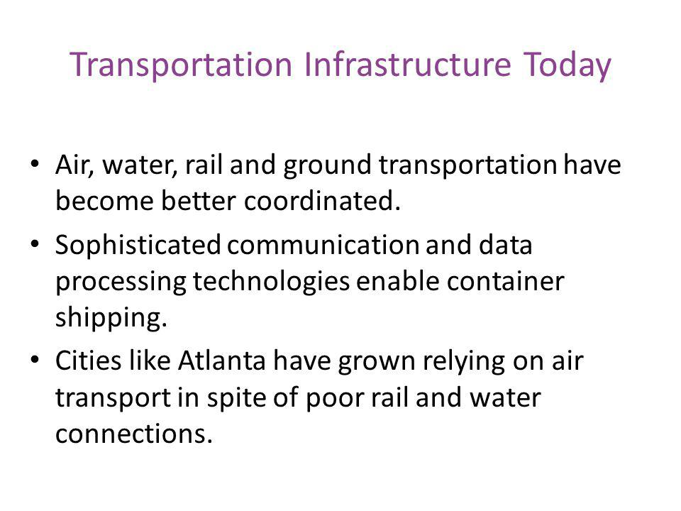 Transportation Infrastructure Today