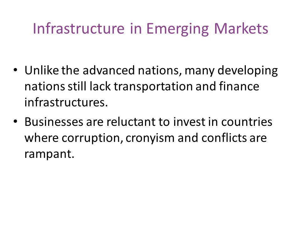 Infrastructure in Emerging Markets
