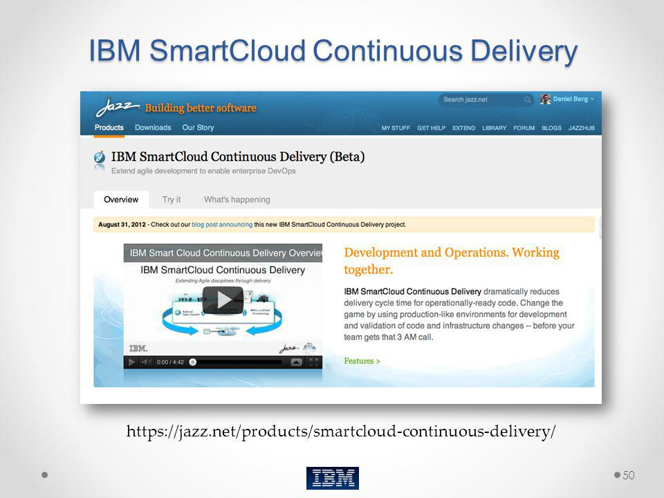 IBM SmartCloud Continuous Delivery