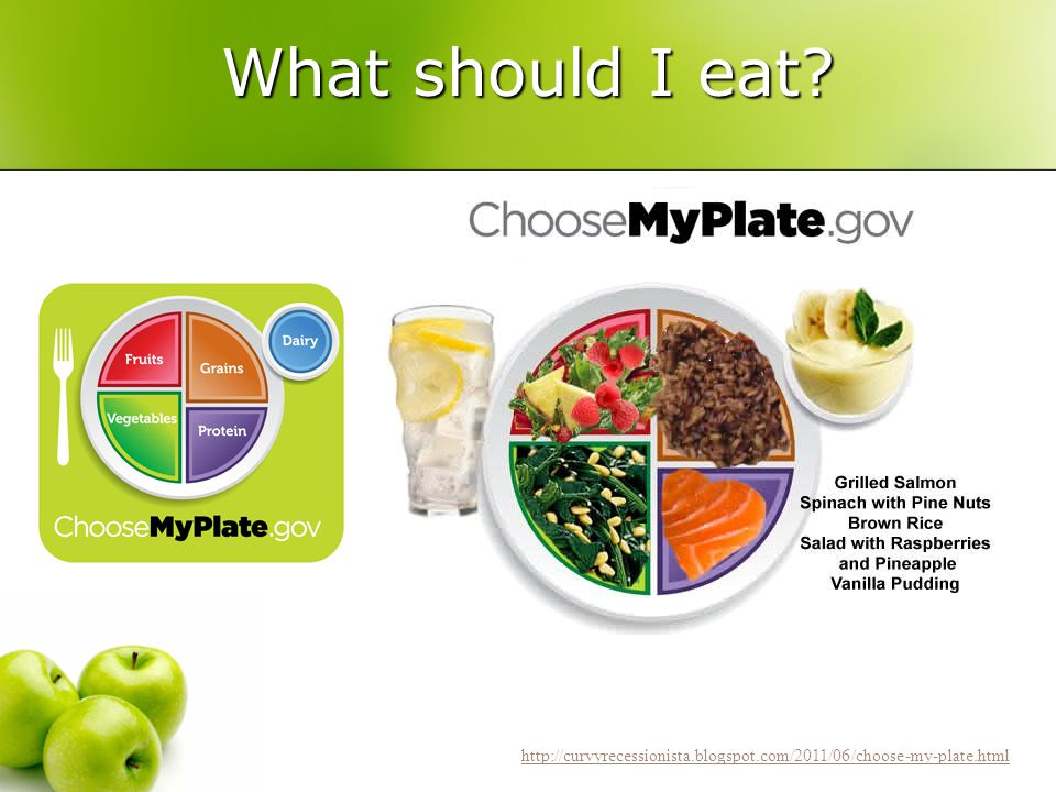 What should I eat http://curvyrecessionista.blogspot.com/2011/06/choose-my-plate.html