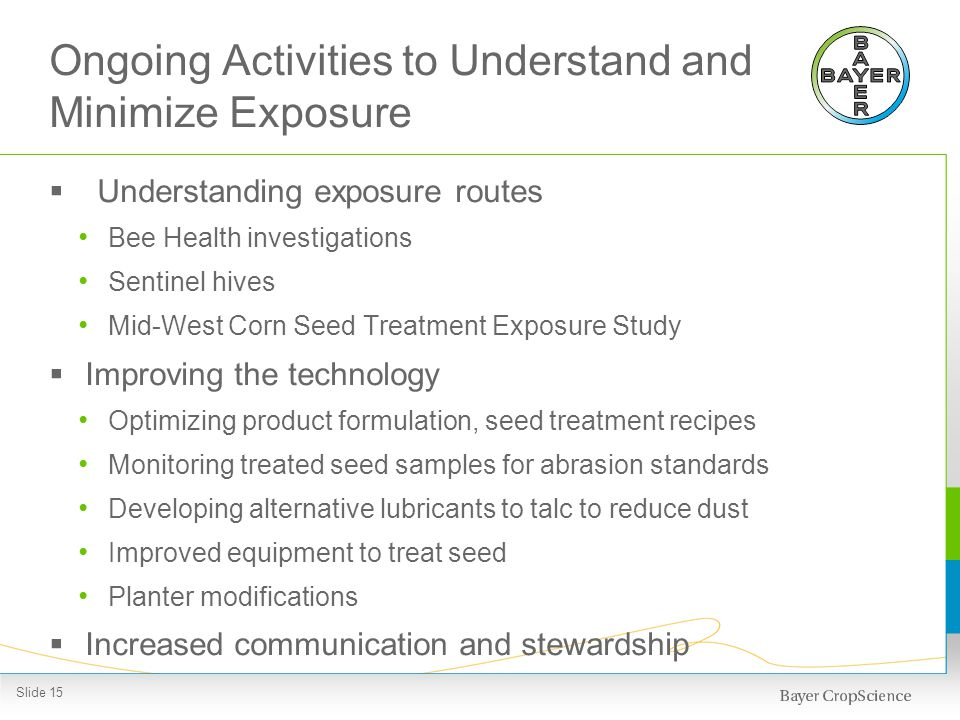 Bee Health Investigations in 2013: Response Preparations