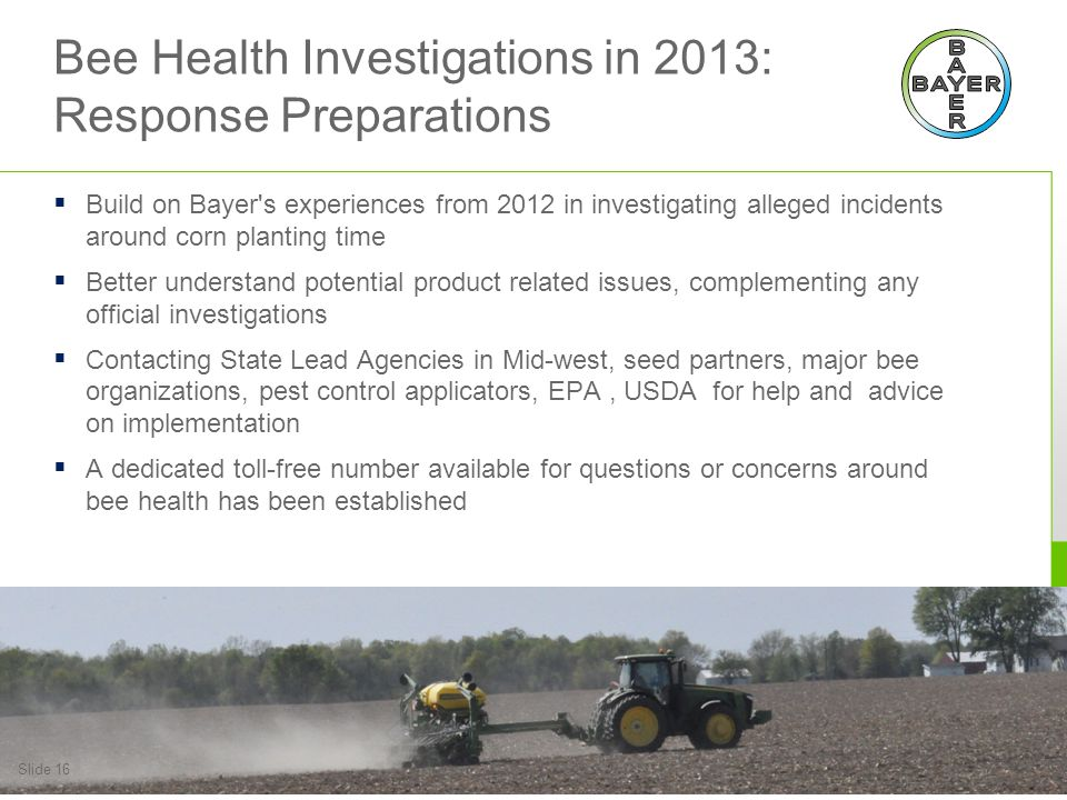 Bee Health Investigations in 2013: Resources Available
