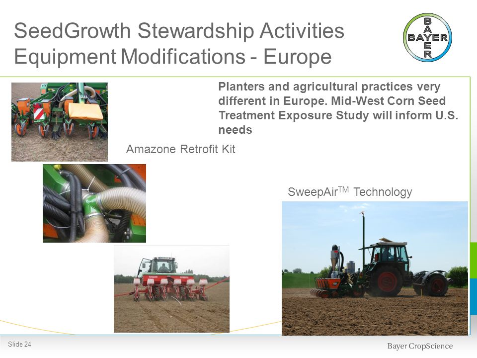 Bayer SeedGrowth™ - A fully integrated system