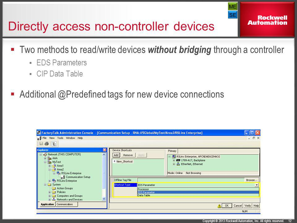 Directly access non-controller devices