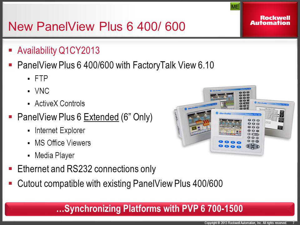 …Synchronizing Platforms with PVP 6 700-1500