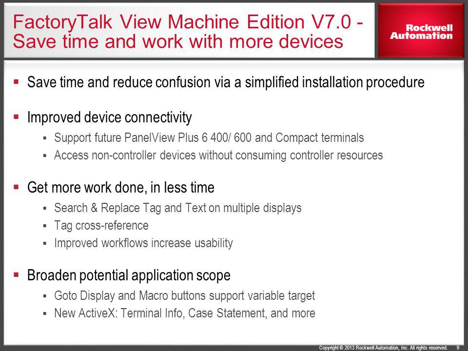 FactoryTalk View Machine Edition V7