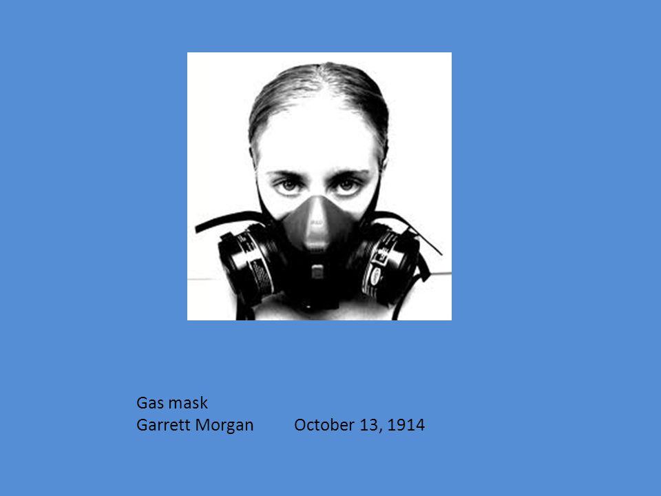 Gas mask Garrett Morgan October 13, 1914