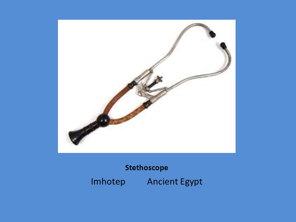 Stethoscope Imhotep Ancient Egypt