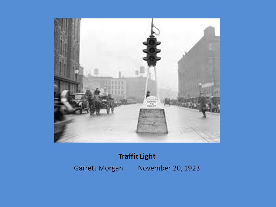 Garrett Morgan November 20, 1923