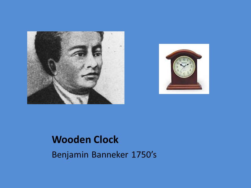 Wooden Clock Benjamin Banneker 1750's