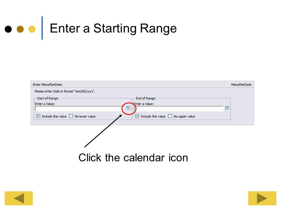 Click the calendar icon