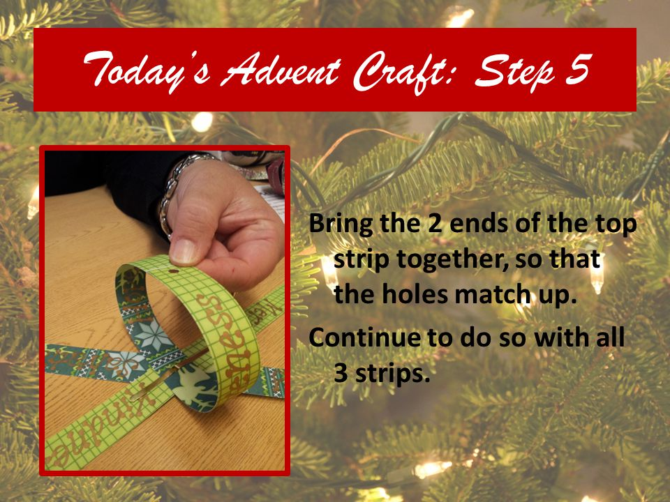Today's Advent Craft: Step 5