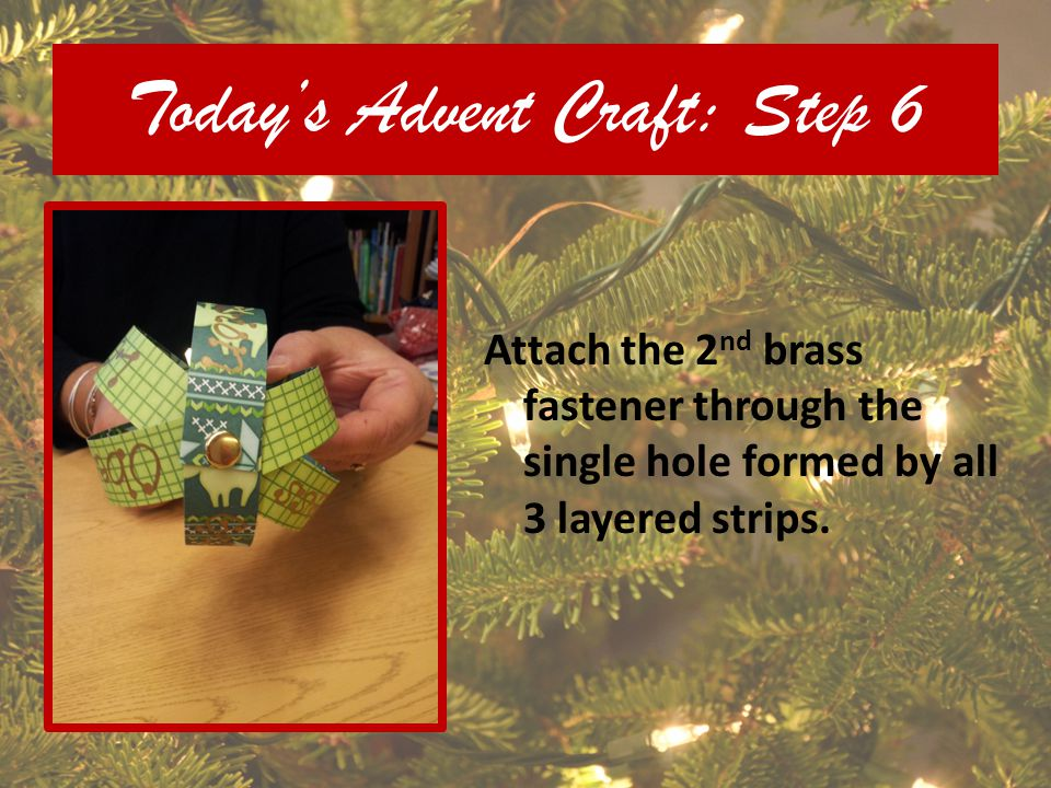Today's Advent Craft: Step 6