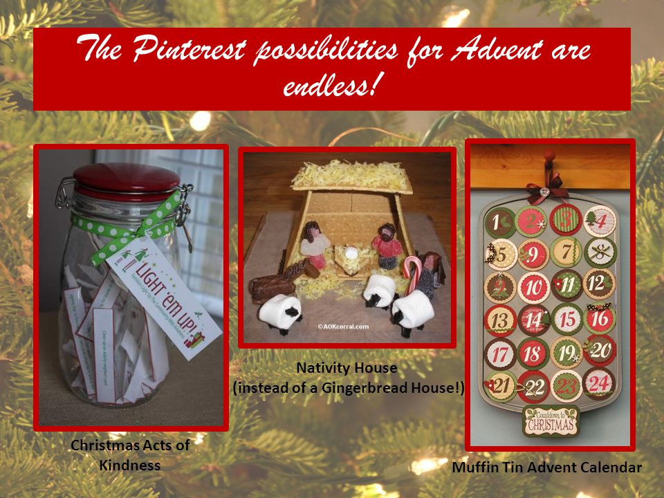 The Pinterest possibilities for Advent are endless!