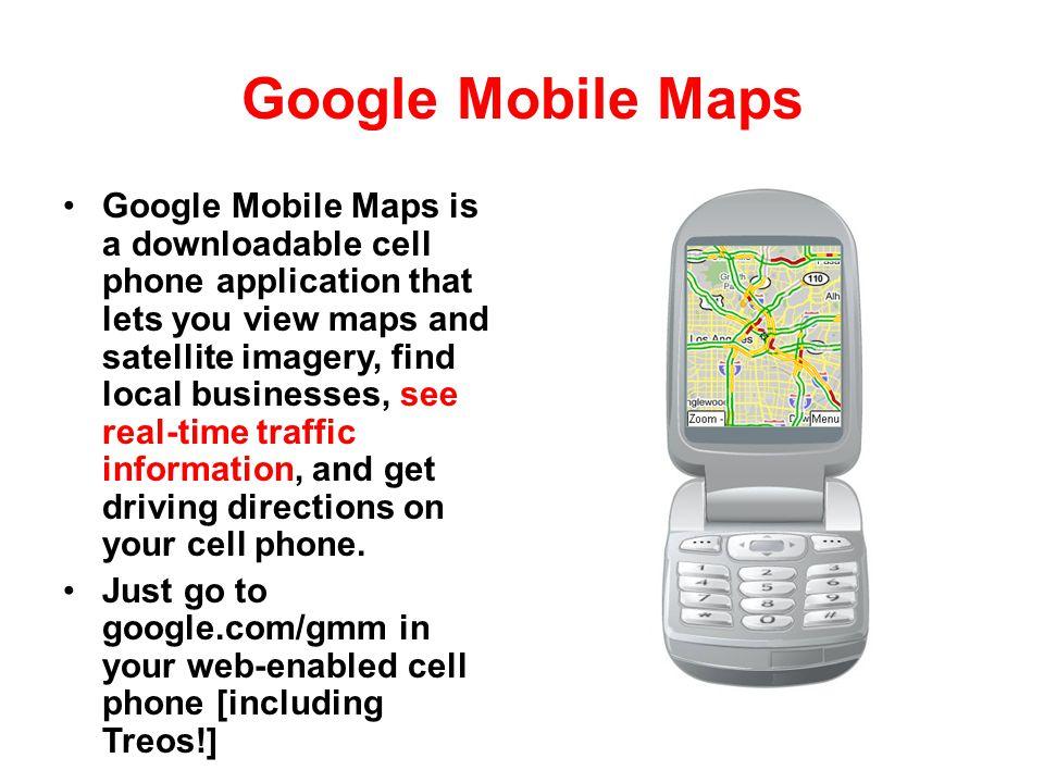 Google Mobile Maps