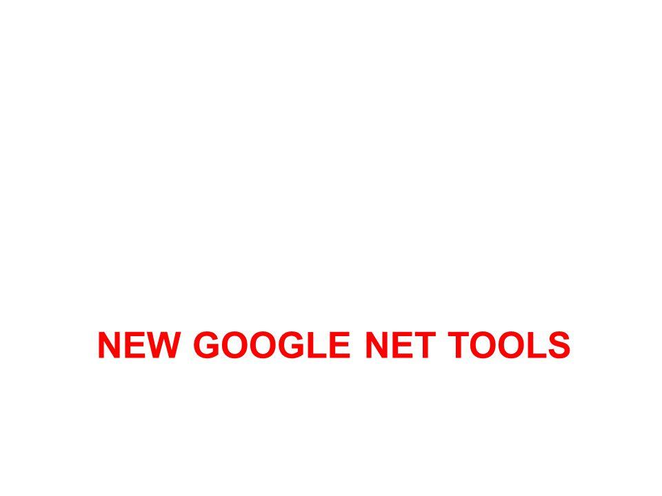 New google net tools