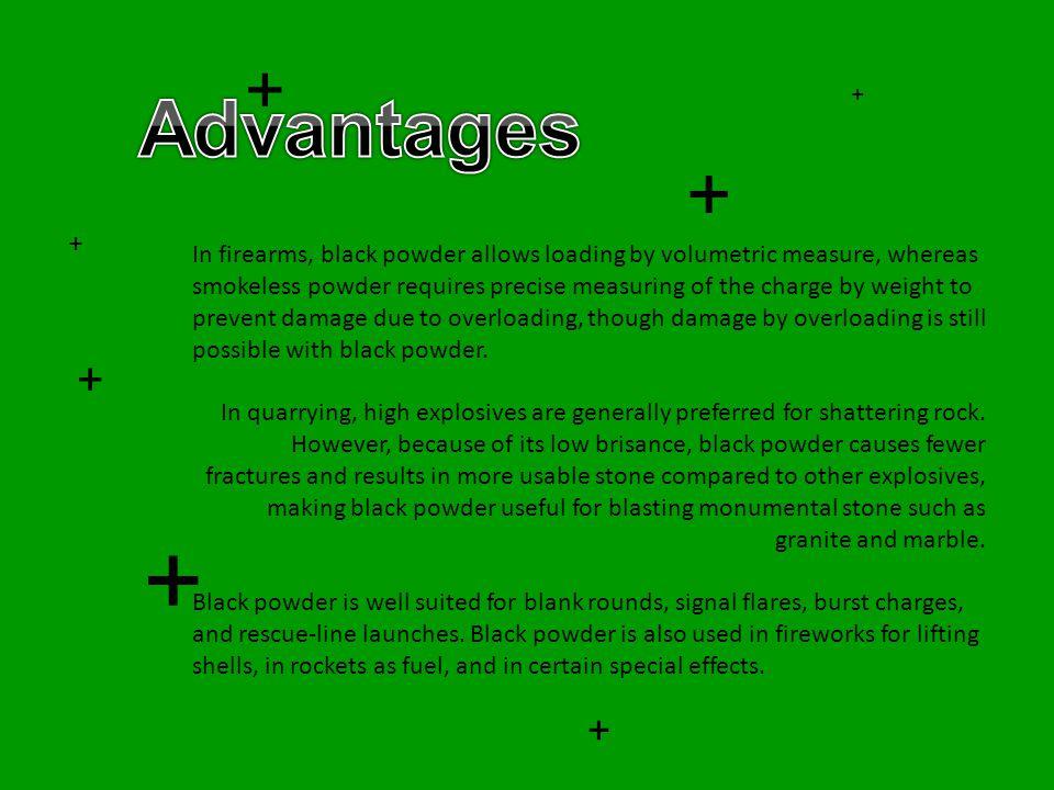 + Advantages. + + +
