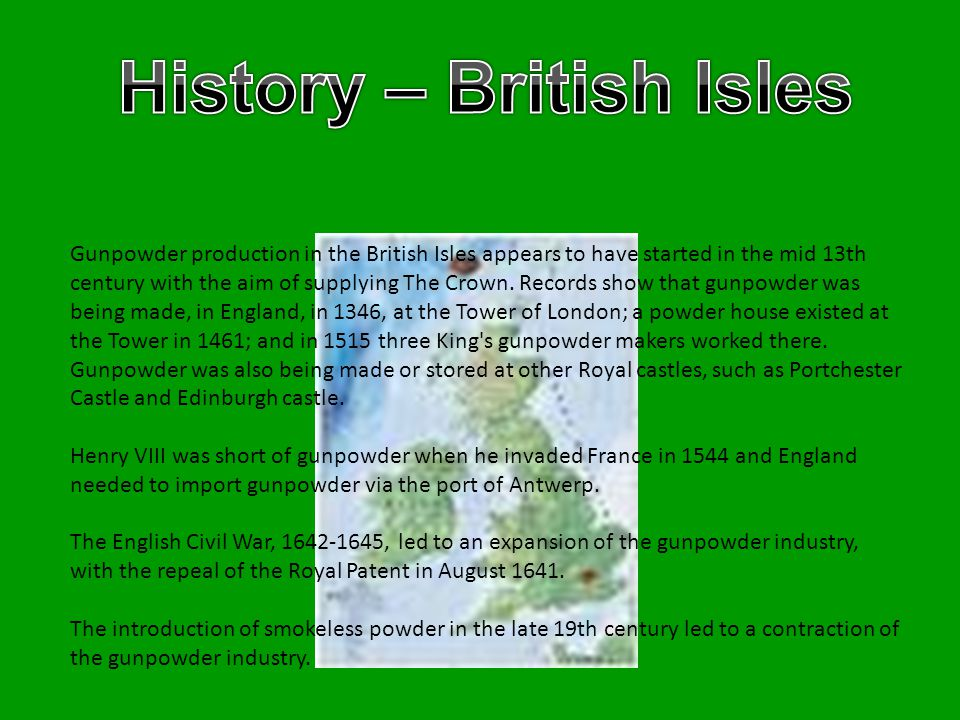 History – British Isles