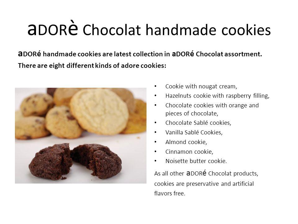 aDORè Chocolat handmade cookies