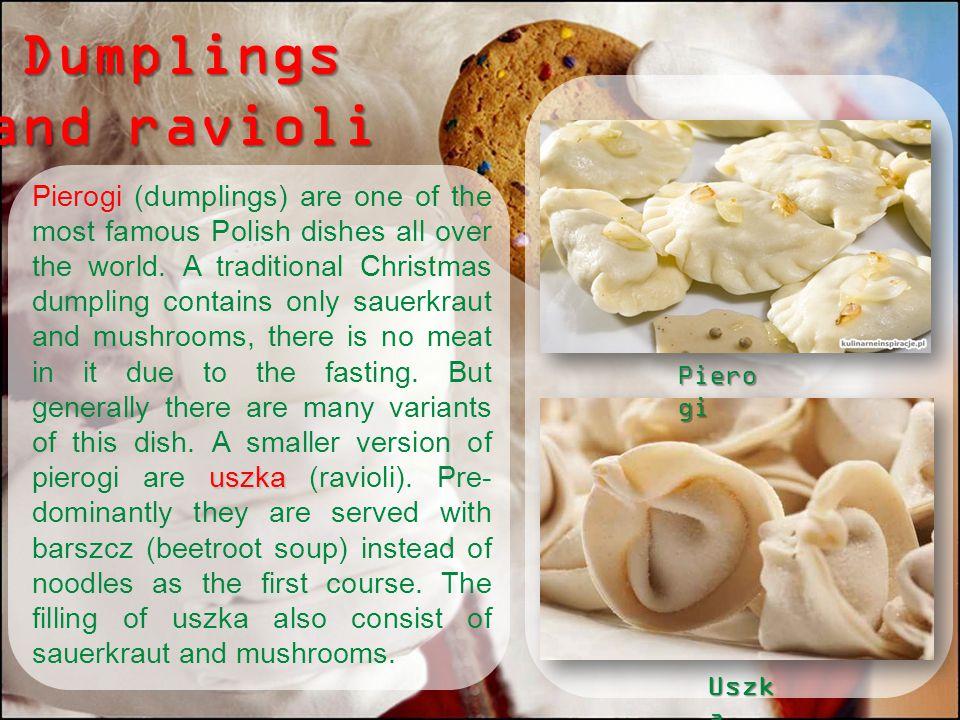 Dumplings and ravioli
