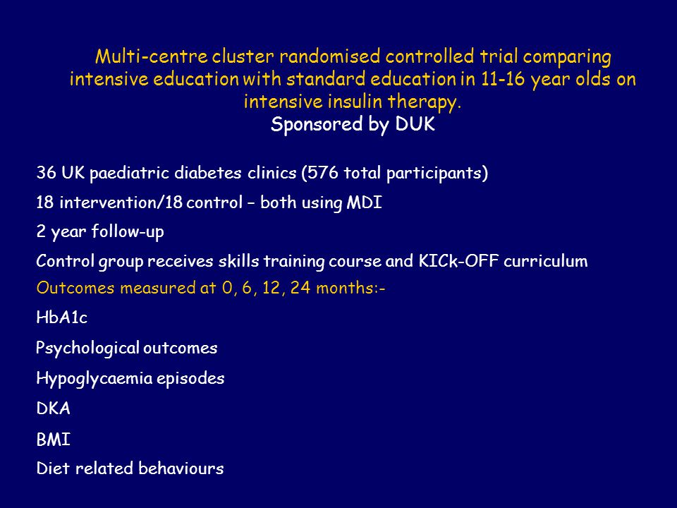 Multi-centre cluster randomised controlled trial comparing