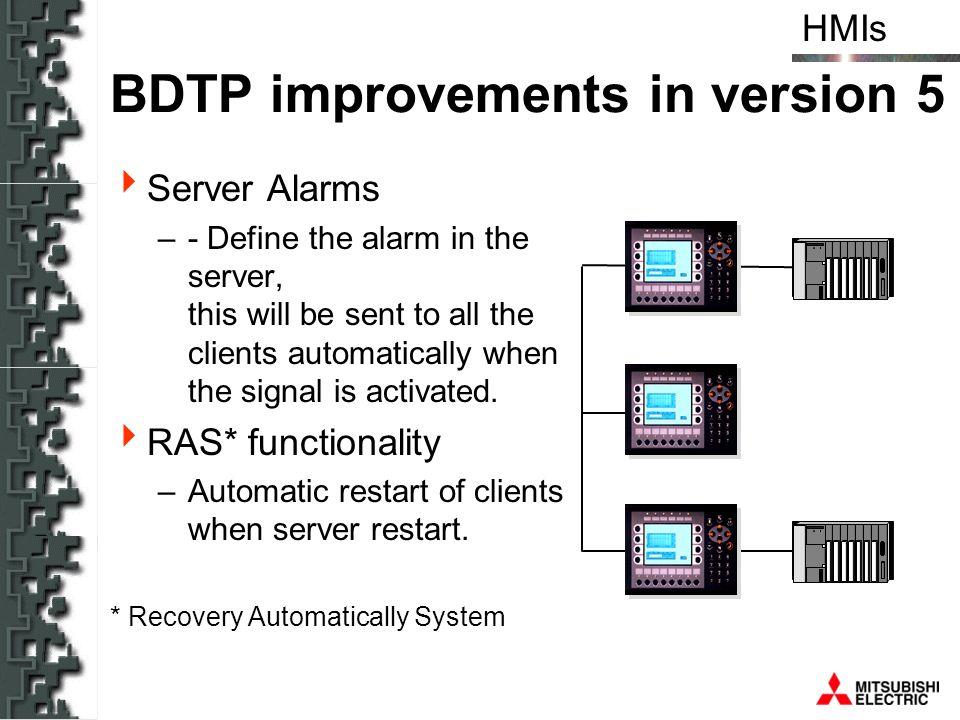 BDTP improvements in version 5
