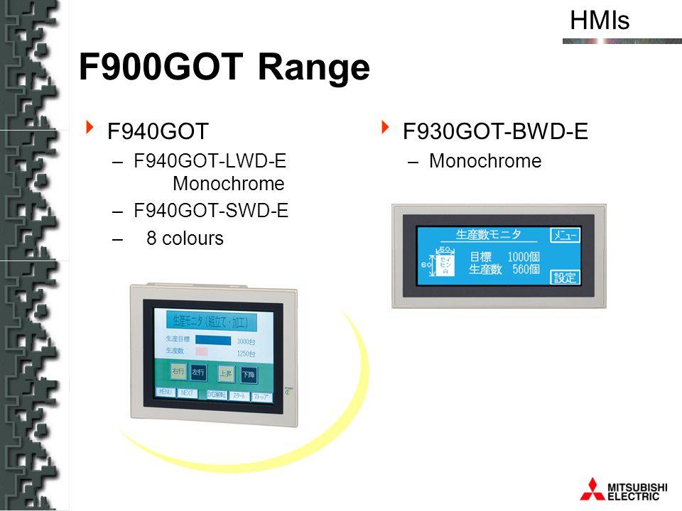 F900GOT Range F940GOT F930GOT-BWD-E F940GOT-LWD-E Monochrome